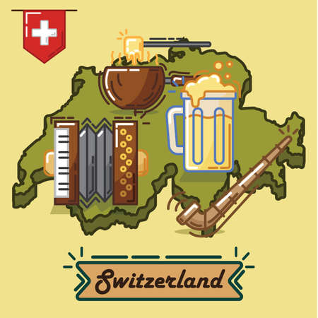 switzerland traditional concept