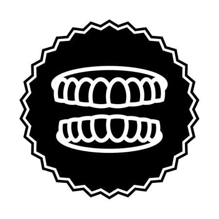 歯  イラスト・ベクター素材