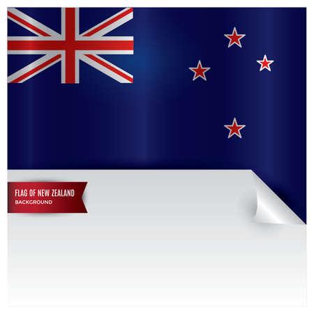 new zealand flag design Stok Fotoğraf - 79217092