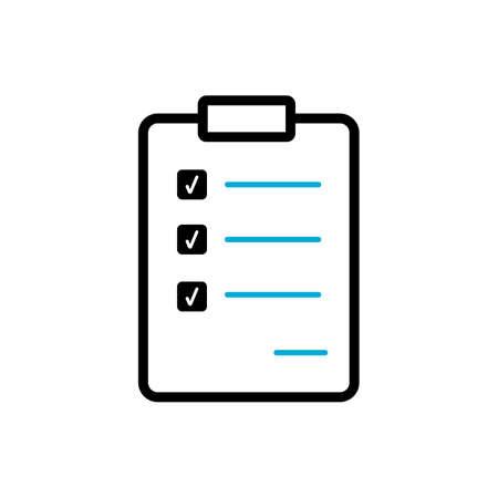 checklist icon Stock Vector - 79216514