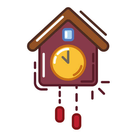 cuckoo clock Stock Vector - 79216586