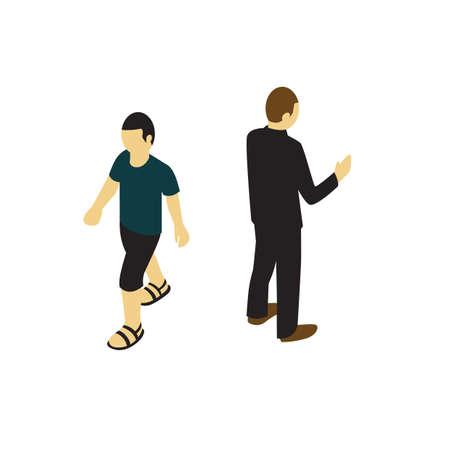 male avatars Illustration