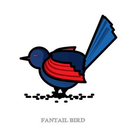 insectivorous: new zealand fantail
