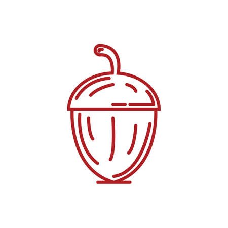acorn Ilustrace