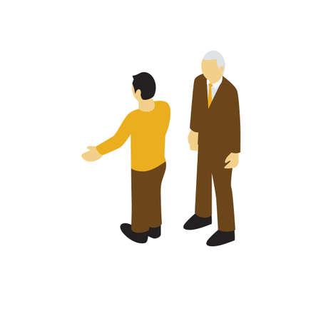 male avatars Иллюстрация