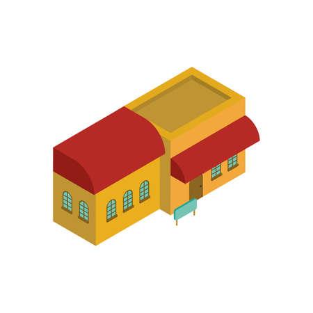 Shophouse icon