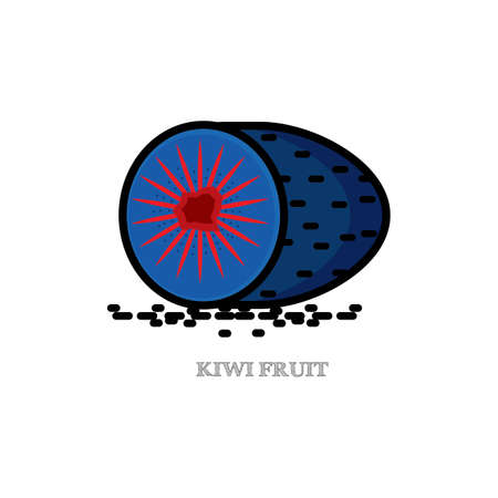 kiwi fruit Reklamní fotografie - 79217202