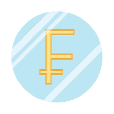 switzerland franc currency Reklamní fotografie - 79157907