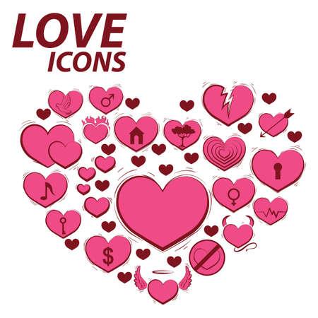 愛のアイコン