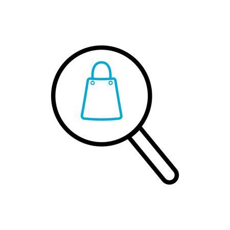 search product symbol Illustration