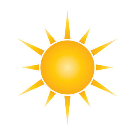 sun logo element