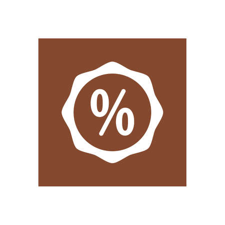 discount symbol Illustration