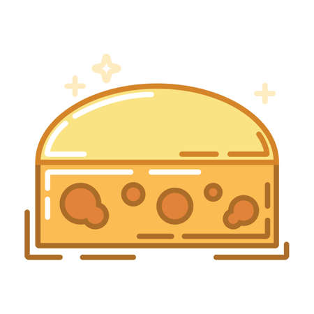 チーズのブロック