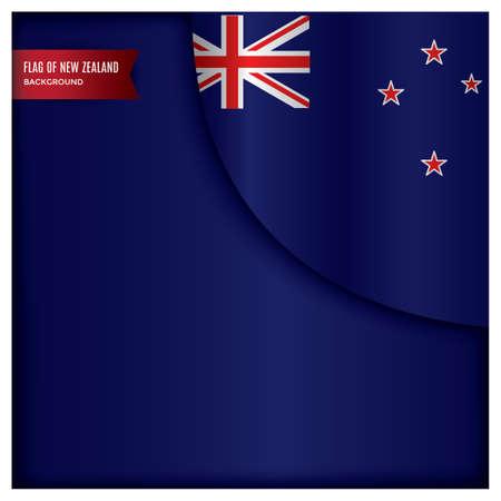 new zealand flag design Stok Fotoğraf - 79217270