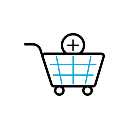 add item to shopping cart symbol