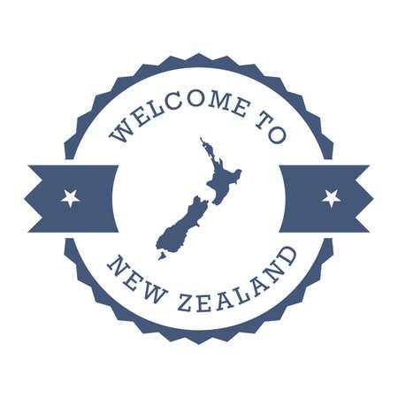ニュージーランド デザインへようこそ  イラスト・ベクター素材