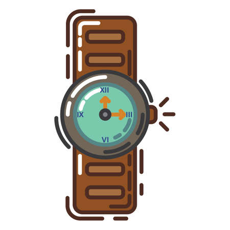 wrist watch Stock Vector - 79217577
