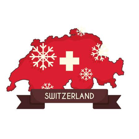 Zwitserland kaart