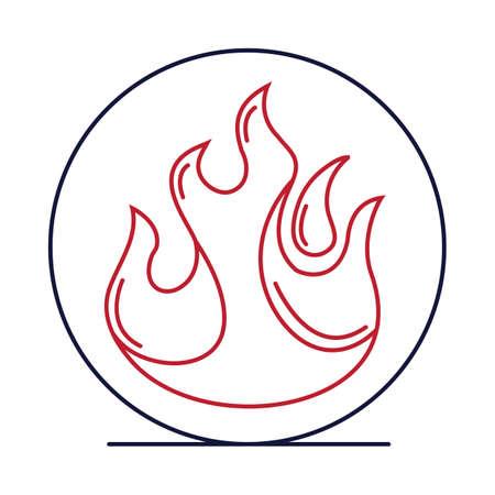 Fire symbol