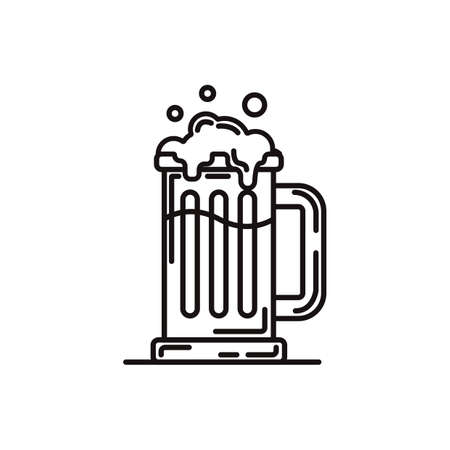 a glass of german beer