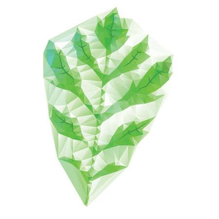 green leaf Иллюстрация