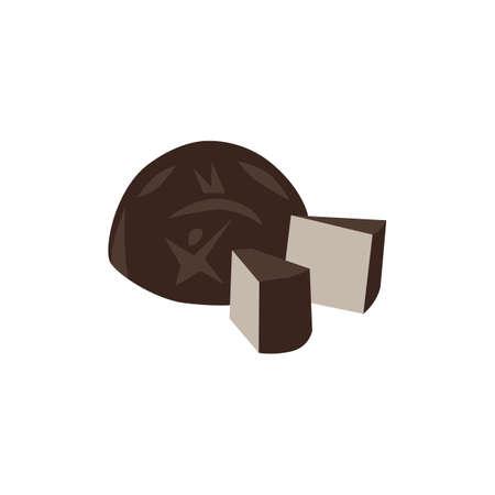 zwarte jelly mooncake