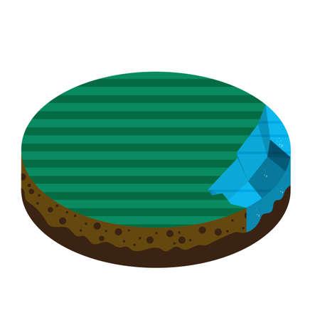 base land Illustration