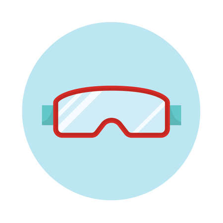 ski goggles: ski goggles Illustration