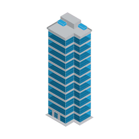 高層建築物  イラスト・ベクター素材