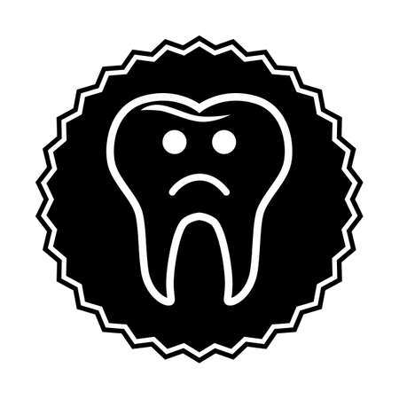 unhappy tooth