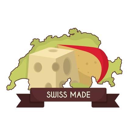 Swiss made cheese