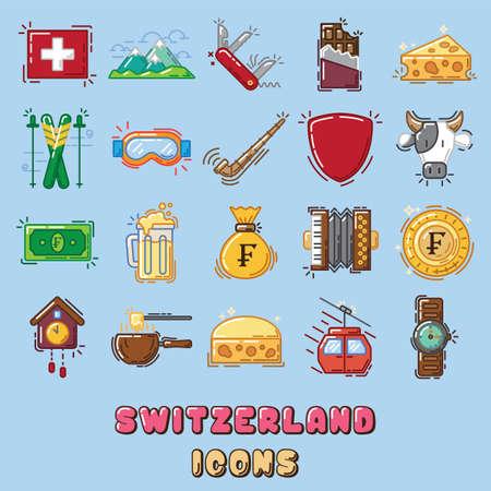 스위스 아이콘
