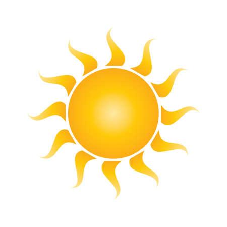 sun energy: sun logo element
