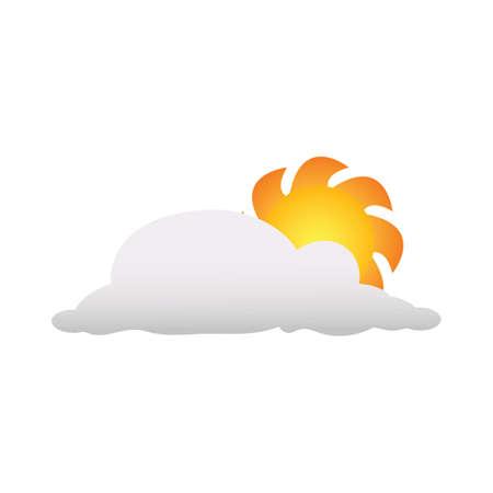 fiery: sun logo element
