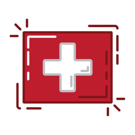 a Switzerland flag.