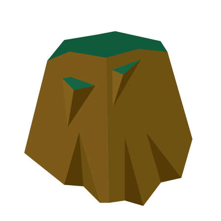 Hill isolated
