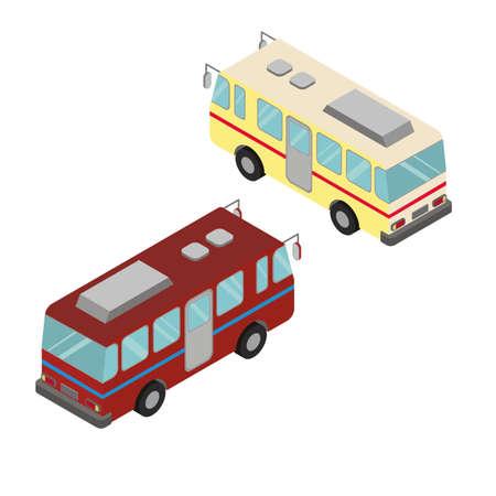 Isometric buses