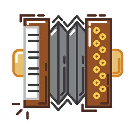 piano accordian Reklamní fotografie - 79217744