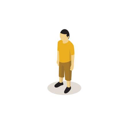 Male avatar Иллюстрация