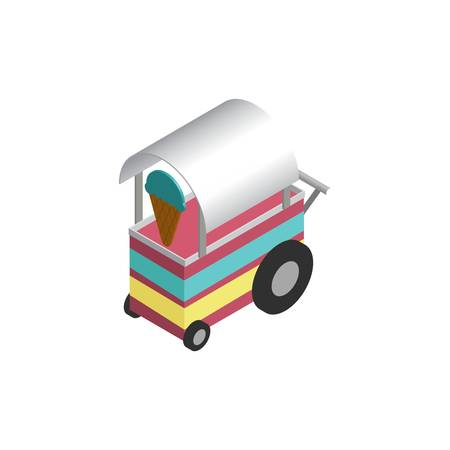 ice cream food cart