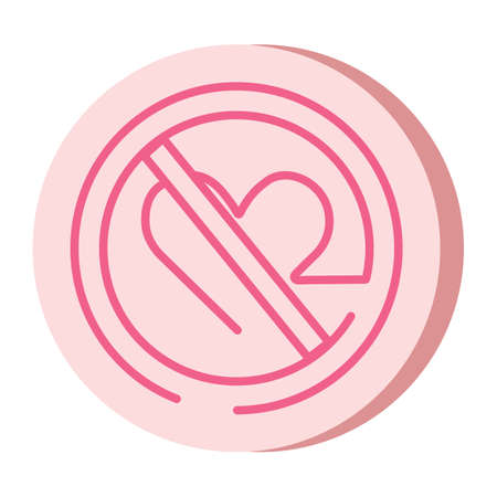 Forbidden Love Symbol Royalty Free Cliparts Vectors And Stock