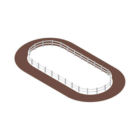 horse track