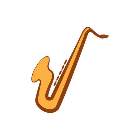 aerophone: saxophone Illustration