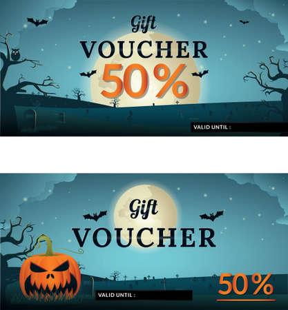 halloween gift vouchers