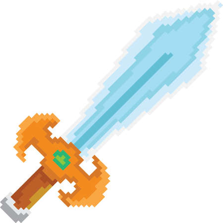 sword pixel art