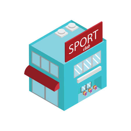 sports club building