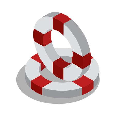 Rettungsring Standard-Bild - 79218051