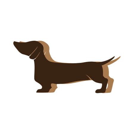 dachshund Ilustração