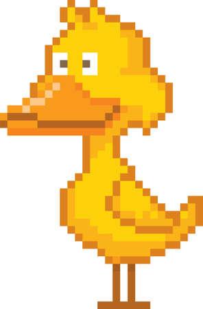 pixel duck
