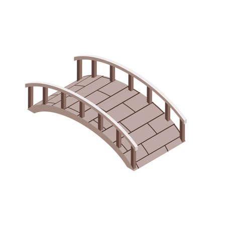 Holzbrücke Standard-Bild - 79218164